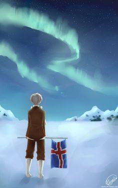 Hetalia (ヘタリア) - Iceland (アイスランド)