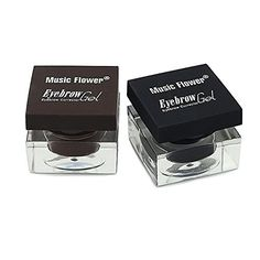 Ucanbe Cosmetics 3 in 1 Eyebrow  Eyeliner  Mascara Makeup Set black and dark brown *** To view further for this item, visit the image link.