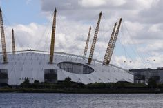 Millennium Dome, designed by Richard Rogers. Famous Structures, Richard Rodgers, Building Facade, Building Materials, London, Design, Big Architects, Construction Materials