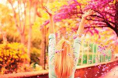 Technicolor blossoms