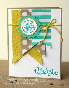 Canaan Thank You Card by Tessa Wise, via Flickr