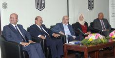 أبوغزاله يشيد برعاية المصري حفل إشهار كتاب العولمة بين رفاهية الانسان وهيمنة القوة