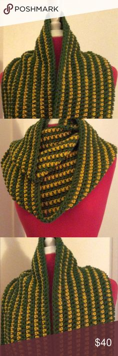 Juniper Cowl Scarf Long like my Canary one but opposite colors. Crochet and can be used in many ways. Crochet by me. New. Heaven Sent Knits Other