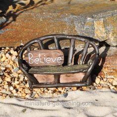 Believe Bench - $3.99