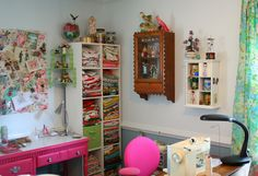Corner of the new Sewing Studio   Blogged at: www.georgiapea…   Flickr