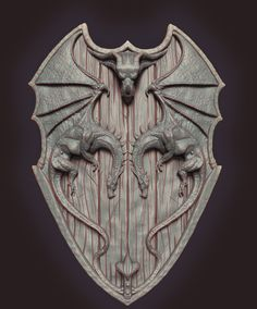 Dragon_Shield_small_update, Covaci ionut ovidiu on ArtStation at https://www.artstation.com/artwork/LJZDK