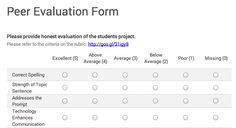 Google for Education: Delivering Peer Feedback with Google Forms - by Alice Keeler