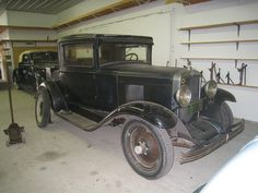 The Norm Miller Collection - 1929 Chevy Survivor Car by dmoondog, via Flickr