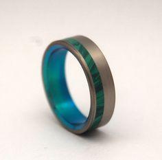 Hummingbird    Minter + Richter | Titanium Rings - Unique Wedding Rings | Titanium Rings | Minter + Richter