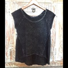 Really cute mesh shirt No trades :) not really brandy Brandy Melville Tops Tees - Short Sleeve