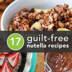 Healthier Ways to Enjoy Nutella