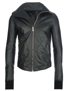 Rick Owens leather biker jacket | under cover | mens leather biker jacket | menswear | mens style | mens fashion | wantering http://www.wantering.com/mens-clothing-item/leather-biker-jacket/ad7UH/