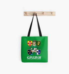 'Irish rugby rugby world cup Japan Ireland' Tote Bag by Helepictor