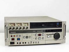 Panasonic AG-7500 Professional S-VHS / VHS Tape Cassette Recorder / Player