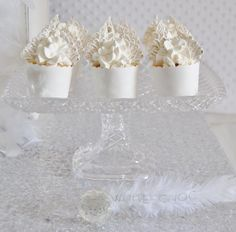 Angel Themed Baby Shower with Such Darling Ideas via Kara's Party Ideas