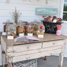 Blog My Little Party - Ideas e Inspiración para Fiestas: Fiestas Temáticas: Milk & Cookies