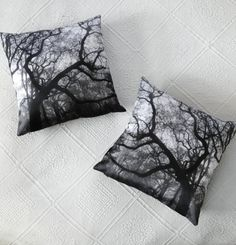 Enter the Forest pillow case set by NonaLimmen on Etsy