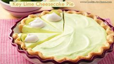 Key Lime Cheesecake Pie2:33 AM Posted by Sandy Barrette1CommentsKey Lime Cheesecake Pie
