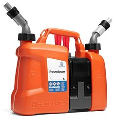 Husqvarna Combi Can - Petrol and Oil Fuel Spouts Chainsaw Forestry Equipment Husqvarna, Chainsaw Accessories, Promo Amazon, Construction Website, Splash Effect, Stihl Chainsaw, Chainsaw Mill, Chainsaw Chains, Logging Equipment