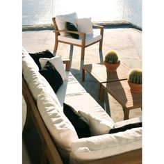 Royal Botania Solid Ixit Lounge Mittelmodul Aus Teakholz