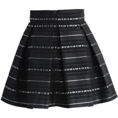 Suno Square Tie Black Pleated Mini Wrap Skirt (9,885 MXN) ❤ liked ...