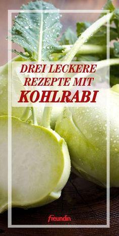 Three tasty recipes with kohlrabi - Drei leckere Rezepte mit Kohlrabi Three tasty recipes with kohlrabi - Dutch Recipes, Easy Soup Recipes, Greek Recipes, Easy Healthy Recipes, Vegetarian Recipes, Mango Recipes, Delicious Recipes, Avocado Dessert, Avocado Toast