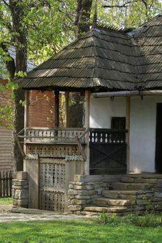 Prahova, sec. Romania, Gazebo, Outdoor Structures, Cabin, House Styles, Decor Ideas, Home Decor, Kiosk, Decoration Home