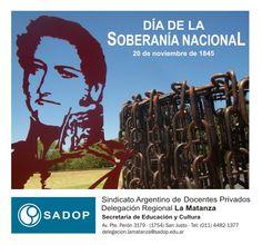 20 de Noviembre de 2012 Día de la Soberanía Nacional