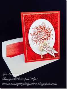Blooming with Kindness Lee Conrey, Stampin' Up! card