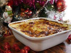 ΜΑΓΕΙΡΙΚΗ ΚΑΙ ΣΥΝΤΑΓΕΣ 2: Πατάτες Ογκρατέν !!! Macaroni And Cheese, Food And Drink, Ethnic Recipes, Mac And Cheese