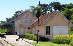 Estação Ferroviária de Garibaldi, RS.