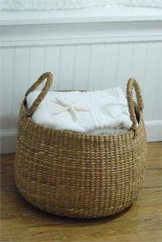 Sea Grass Storage Basket