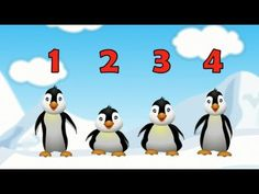 5 Little Penguins Childrens Song Cartoon (By Patty Shukla) - YouTube