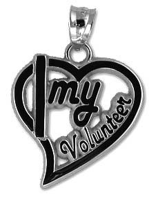 Emergency Stuff - I Love My Volunteer Heart Pendant - Sterling Silver, $11.95 (https://www.emergencystuff.com/i-love-my-volunteer-heart-pendant-sterling-silver/)