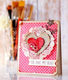 Simon Says Stamp NESTED HEARTS Wafer Dies sssd111555 You Have My Heart at Simon Says STAMP!