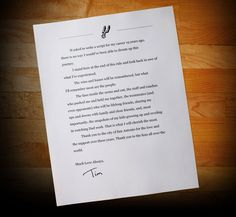 """Tim Duncan says goodbye to Spurs fans with a short, sweet letter - When Gregg Popovich met with the media on Tuesday to discuss the retirement of Tim Duncan, his greatest player and the cornerstone on which the San Antonio Spurs' ascent to the ranks of basketball royalty was built, the legendary coach searched for an explanation for """"why I'm standing here and he's not"""