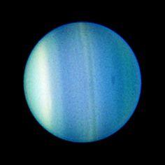 Uranus and Dark Spot - August 23, 2006 - Credit: NASA, ESA, L. Sromovsky and P. Fry (University of Wisconsin), H. Hammel (Space Science Institute), and K. Rages (SETI Institute)