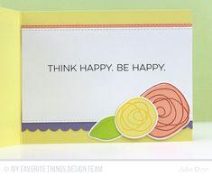 Sending Happy Your Way - Inside Card by Julie Dinn