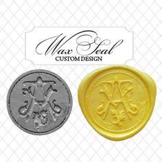 custom #wax #seal by @Pinterestkatrinaalana