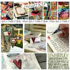 This monthly workshop was created to remind you that you were created to create, encourage you to allow yourself to color outside the lines, to leave the tape measures and rules in the drawer and possibly even introduce you to something new and there are no special skills necessary and NO PERFECTION ALLOWED. It is not just Bible Journaling. It is not just stitching or mixed media or painting rocks or collecting sticks to hang felts hearts from. My purpose is to encourage and inspire you…