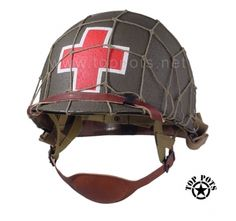US WWII M-1C Army Paratrooper Airborne Medic Helmet Liner