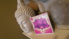 Check out this item in my Etsy shop https://www.etsy.com/listing/276301016/ceramic-tile-lotus-flower-wall-art