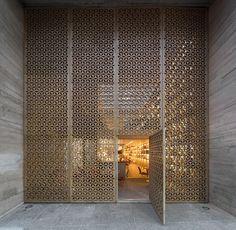 Delicadeza na fachada do restaurante Mozza: http://bit.ly/arquiteturabistro