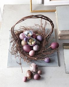 Photo gallery of the Easter baskets Kevin Sharkey has made for Martha over the years. Really wonderful.