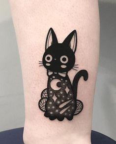 Hugo Tattooer cat tattoo