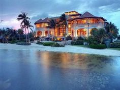 My dream... paradise, relaxation, and a beautiful island home. When I hit the lotto....plus 20 acres!!!