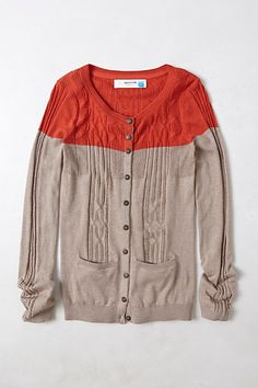 Climbing Cables Cardigan #anthropologie I ADORE this cardigan. I will be so watching for it to go on sale!