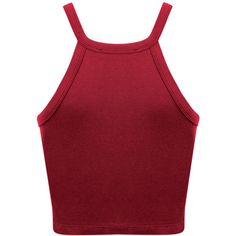 Miss Selfridge 90s Cutout Curve Crop Top , Burgundy ($13) ❤ liked on Polyvore featuring tops, miss selfridge, burgundy crop top, red sleeveless top, cut-out tops and sleeveless crop top