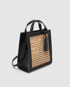 dcd712408dc3 Image 3 of MINI WICKER TOTE BAG from Zara Zara Totes