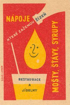 Retro Illustration, Graphic Design Illustration, Cocktail Illustration, Illustrations, Vintage Packaging, Vintage Labels, Matchbox Art, Vintage Cartoon, Travel Design